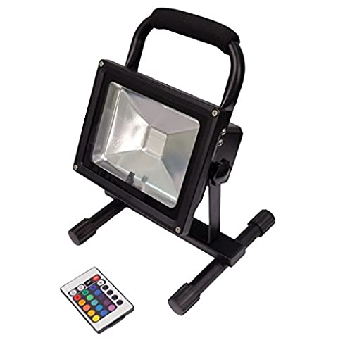 Eagle 20W RGB Rechargeable LED Colour Wash with IR Control