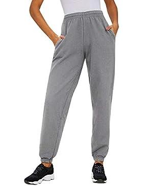 Pantalones de harén Deportivos Running para Mujer Otoño Invierno 2018 Moda PAOLIAN Casual Pantalones Suelto Cintura...