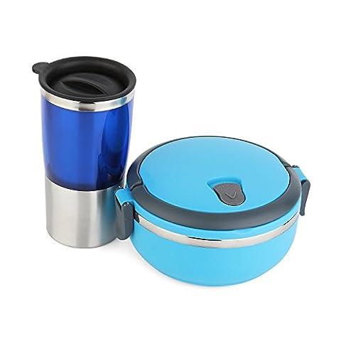 Damase Thermoskanne,Thermosflasche 0,5 Liter Flasche Thermos Becher - für Tee