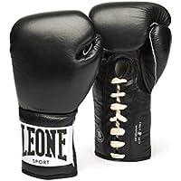 Leone 1947Anniversary - Guantes de boxeo unisex para adultos, Unisex adulto, GN100, negro, 10 onzas