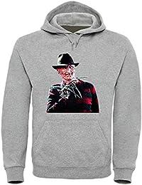 6d78df007c7a53 Freddy Krueger Funny Mens   Ladies   Herren   Damen Unisex Hooded Pullover