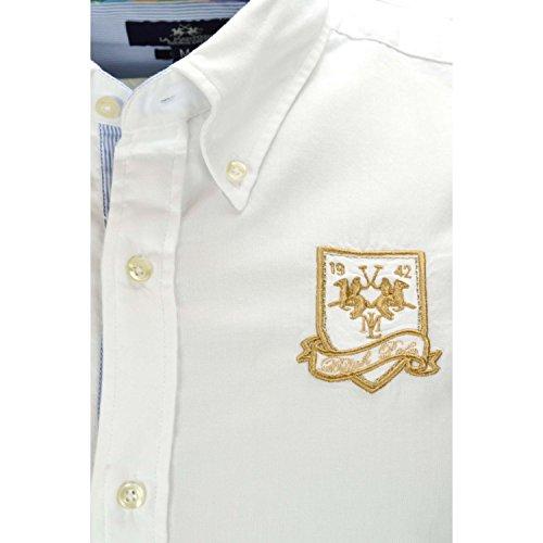 La Martina Herren Freizeit-Hemd Weiß - weiß