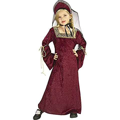 Rubie's - Disfraz de lady medieval, para niñas, talla S (882490-S)