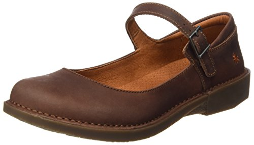 ART 0929 Olio Bergen, Ballerine Closed-Toe Donna Marrone (Brown)