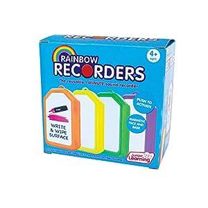 Junior Learning JL149 Rainbow Recoders (Set de Cuatro) Juguetes para niños, Multicolor
