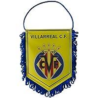 Villarreal CF Banvil Banderín, Amarillo/Azul, Talla Única