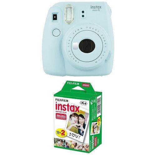 Preisvergleich Produktbild Fujifilm Instax Mini 9 Kamera Ice Blau mit Film