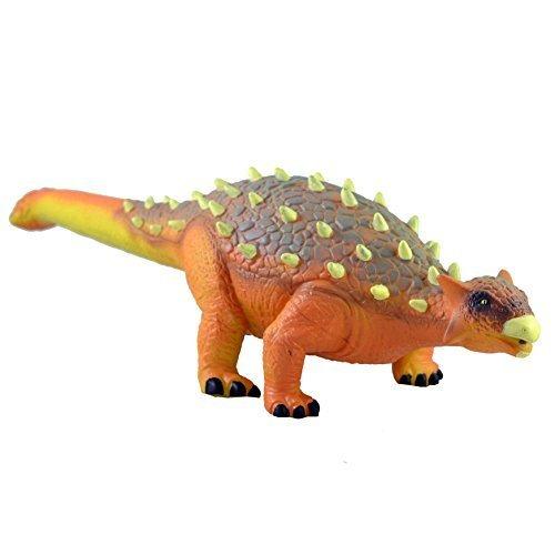 Juguete de dinosaurio grande de 52 cm, de goma, con detalles realistas, Jurasic