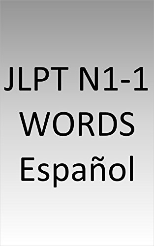 JLPT N1-1 words Spanish por Esu Nagasaki