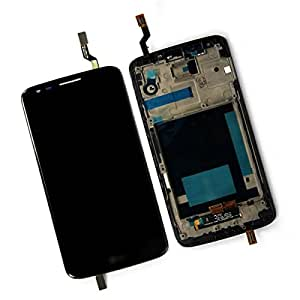 SKILIWAH®Touch Screen + LCD Screen with Frame for LG Optimus G2 D802 D805 Black + Free Tools