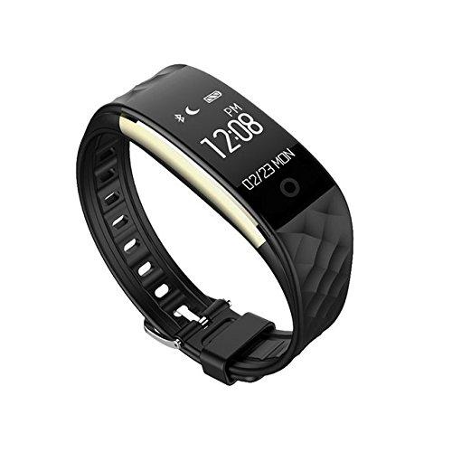 Hongfei bolange braccialetti smart watch s2 aggiornamento, cinturino impermeabile bluetooth bracciale touch con 24 ore di monitoraggio della frequenza cardiaca per android ios donna uomo