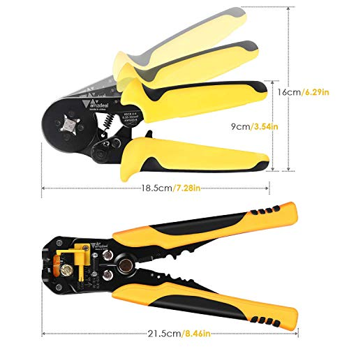 Zoom IMG-1 amzdeal pinza crimpatrice kit 0