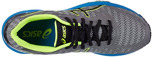 Asics Gel-Ds Trainer 22, Sneakers Uomo Grigio (Carbon / Black / Safety Yellow)