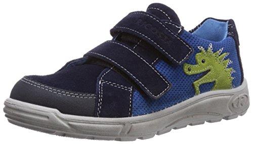 Ricosta Gantar, Low-Top Sneaker bambino Blu (Blau (nautic 160))