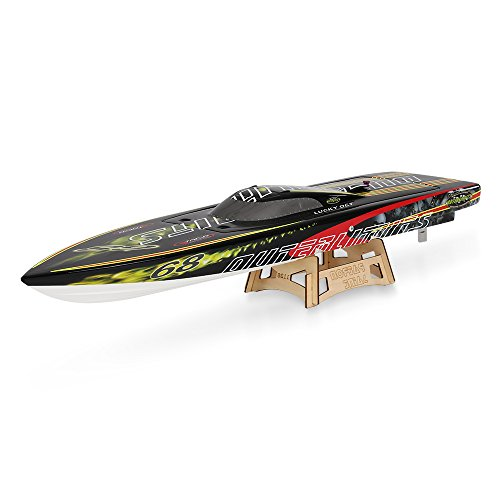 Goolsky TFL Hobby 1126A patrono 2,4 G Racing senza spazzola elettrica raffreddamento ad acqua barca RC motoscafo fibra vetro