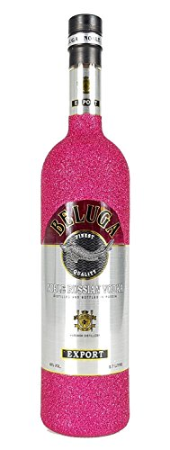 Beluga-Vodka-70cl-40-Vol-Bling-Bling-Glitzerflasche-hot-pink-Enthlt-Sulfite