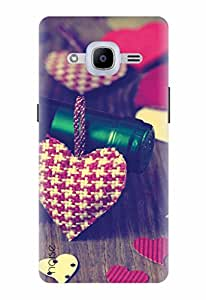 Noise Designer Printed Case / Cover for Samsung Galaxy J2 Pro - 6 (New 2016 Edition) / Patterns & Ethnic / Bottle Of Love Design