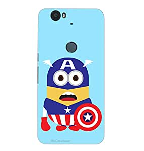 MiiCreations 3D Printed Back Cover for Huawei Google Nexus 6P,Minion