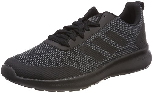 adidas Element Race, Chaussures de Running Homme, Noir Noir (Core Black/core Black/grey Five F17)