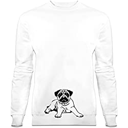 Sudadera Pugs Dog by Shirtcity