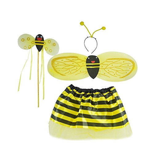 Kleines Kostüm Biene Kleidung Marienkäfer Performance Bekleidung Tanz Kinder as shown gelb