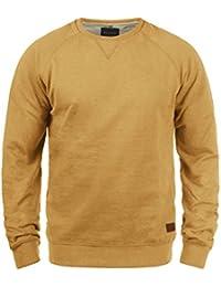 BLEND Alex Herren Sweatshirt Pullover Sweater mit Rundhalskragen aus hochwertiger Baumwollmischung