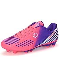the best attitude 9b067 46c73 Willsky Chaussures de Football pour Hommes, Chaussures d entraînement de  Football pour garçons AG