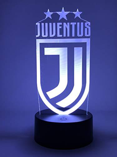 3D Lamparas Led Lámpara Oficial de Juventus 2018/2019