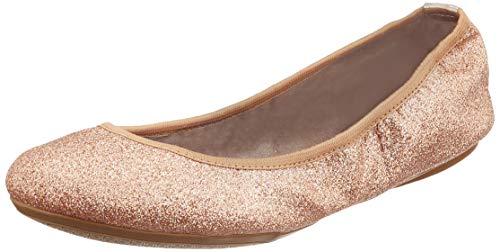 Butterfly Twists Sophia glitter, Damen Ballerina, Pink (Rose gold 347), 41 EU (8 UK)