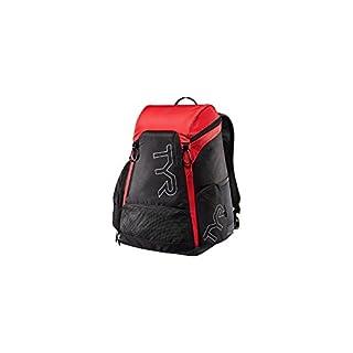 TYR Unisex's Alliance Backpack, Black/Red, Medium/30 Litre