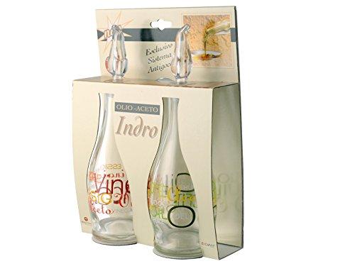 Acquista online borgonovo set olio aceto vetro mix accessori da