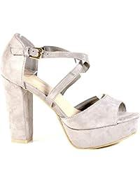 Schuhcity24 Damen Schuhe 11835 Sneaker Schwarz 36