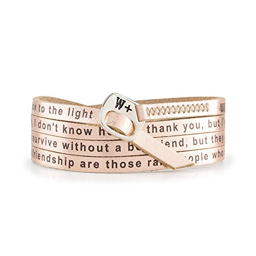 WE POSITIVE SPECIAL BLACK FRIDAY 20% OFF ARMBAND FRIENDSHIP ENG COL. ORO ROSA