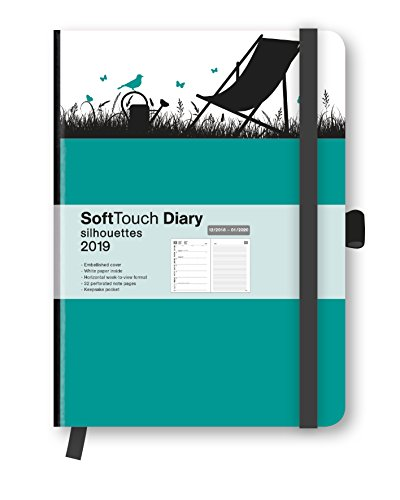 2019 Silhouettes Garden SoftTouch Diary por teNeues Calendars & Stationery