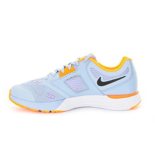 Nike Tri Fusion Run, Scarpe da Corsa Donna, Black-Pink Foil-White, Pointure Grey-Orange