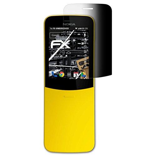 atFoliX Filtro Privacy per Nokia 8110 4G Pellicola Protezione Vista, Privacy a 4 Vie FX Protettore di Privacy per Schermo