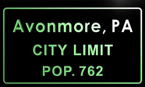 t80940-g-avonmore-borough-pa-city-limit-pop-762-indoor-neon-sign