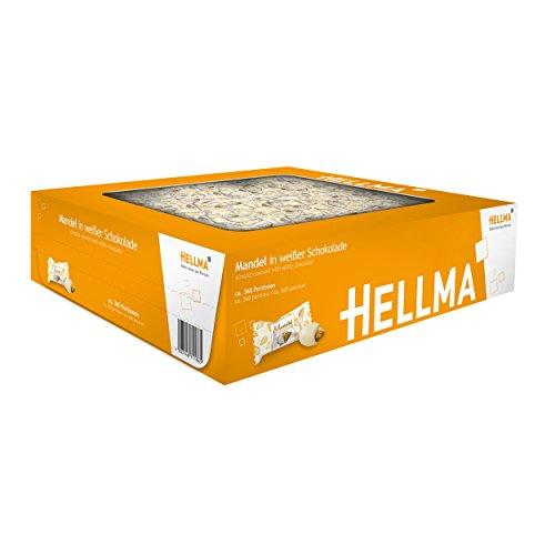 HELLMA 70101186 Mandeln in weiáer Schokolade, im Karton