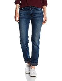 Cross Damen Straight Jeans Rose