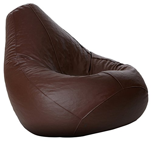 Comfy Bean Bag - Size Xl - Without Fillers - Cover Only (Brown)