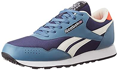 Reebok Classics Men's Classic Protonium Blue Ink, Slate and Atomic Red Sneakers - 11 UK/India (45.5 EU)(12 US)