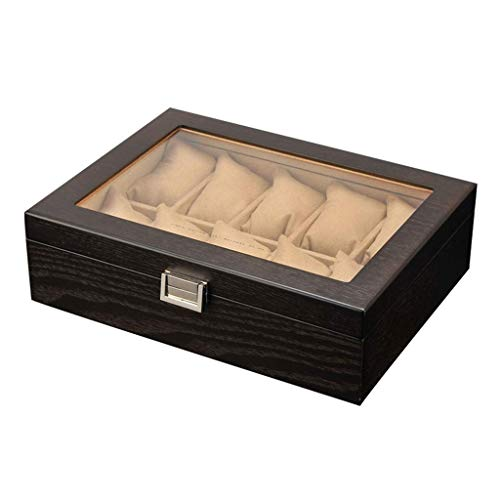 wellery Display Case Mens Watch Display Box, Accessories-Gift for Man, Women, Husband,B ()