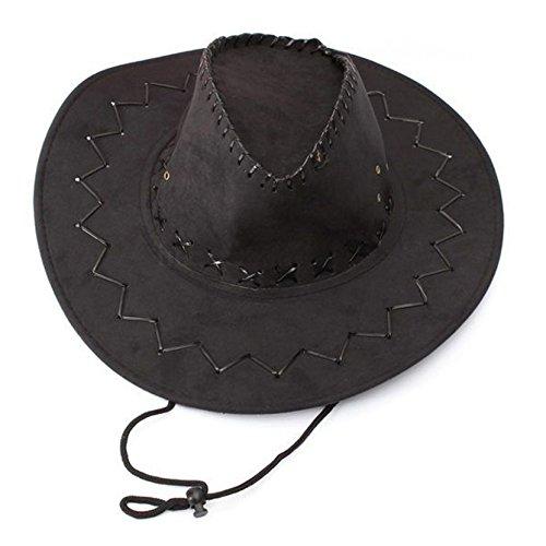 Sombrero - TOOGOO(R)Retro Unisex Sombreros accesorio del vestido de lujo de  Rodeo dfdc61fcaf2