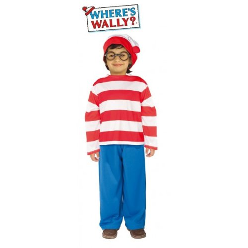Imagen de rubie's  disfraz de wally infantil, talla s