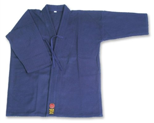 M.A.R International Ltd Kendo-/Aikido-Jacke Gear Baumwolle Stoff marineblau 150 cm marineblau -