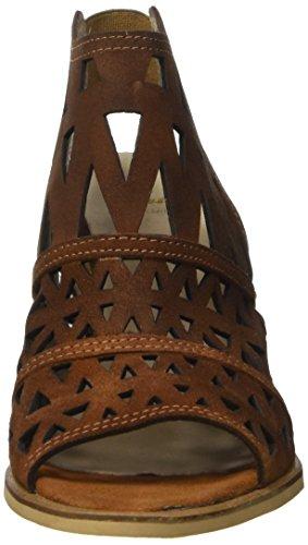 Bata 7643532 Sandali con Cinturino alla Caviglia, Donna Marrone scuro