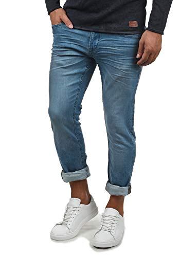 Blend Pico Herren Jeans Hose Denim Aus Stretch-Material Skinny Fit, Größe:W38/34, Farbe:Denim middleblue (76201)