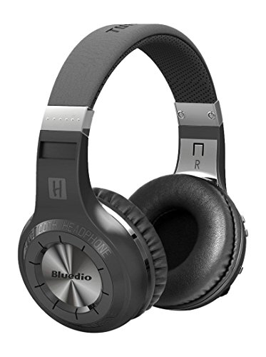 Bluedio H+ (Turbine Plus) Bluetooth On-Ear Kopfhörer, schwarz
