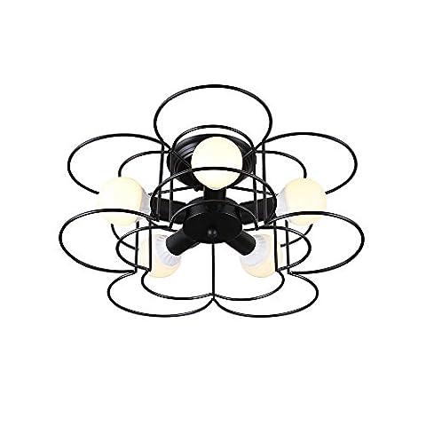 Moderne Simple Plafonnier Créatif Personnalité Métal Luminaires de Plafond Pour la Salle D'étude Salon Chambre