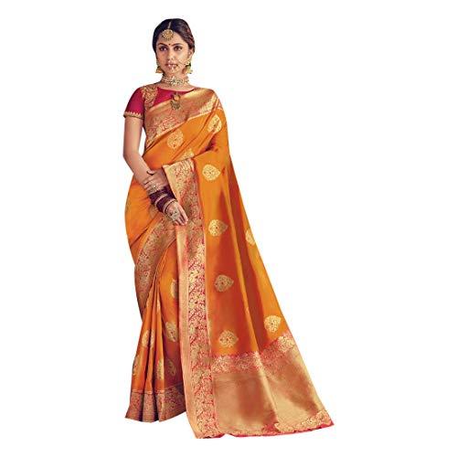 Saree Indische Hochzeit Zari Sari Heavy Bluse Damen Muslim 8167 -